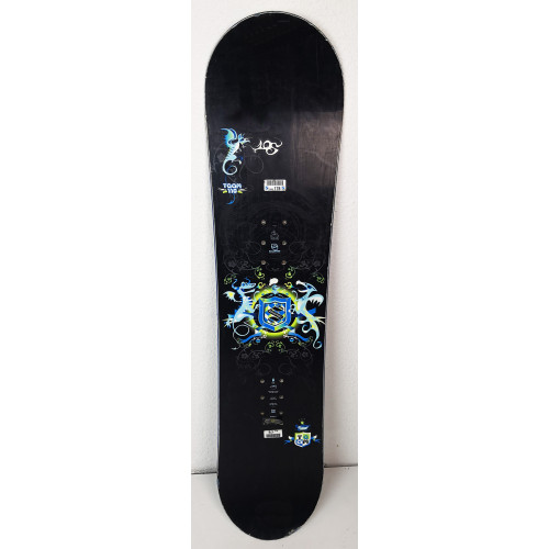 Snowboard Jr Salomon Team Dragons Noir