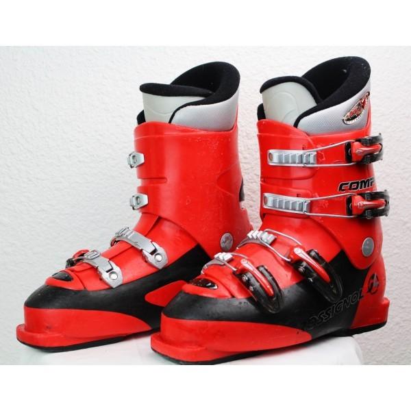 Chaussures de Ski Rossignol Comp J4 Rouge / Noir