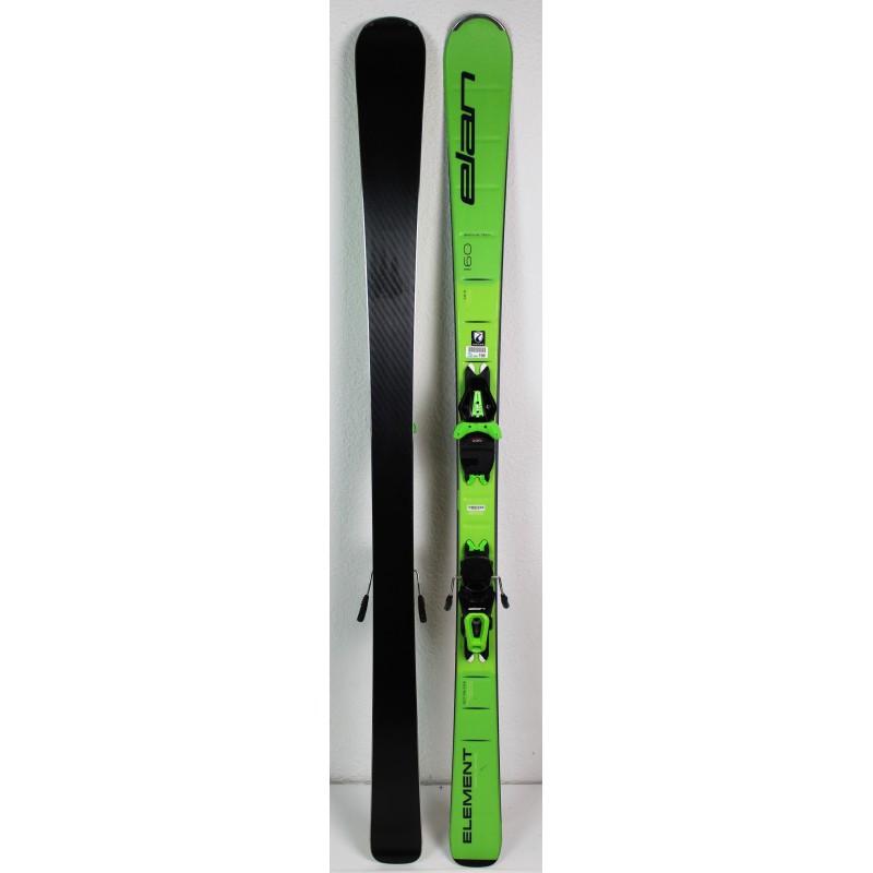 Pack Ski Elan Element LS SMU Vert
