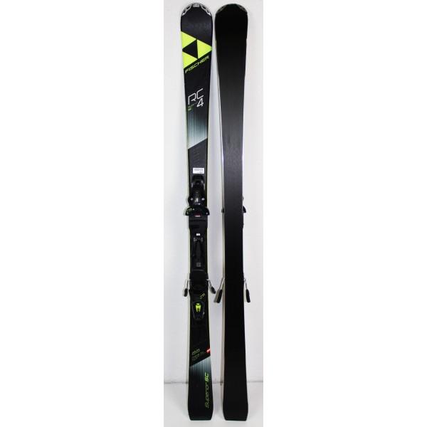 Pack Ski Fischer RC4 SMU Superior Noir
