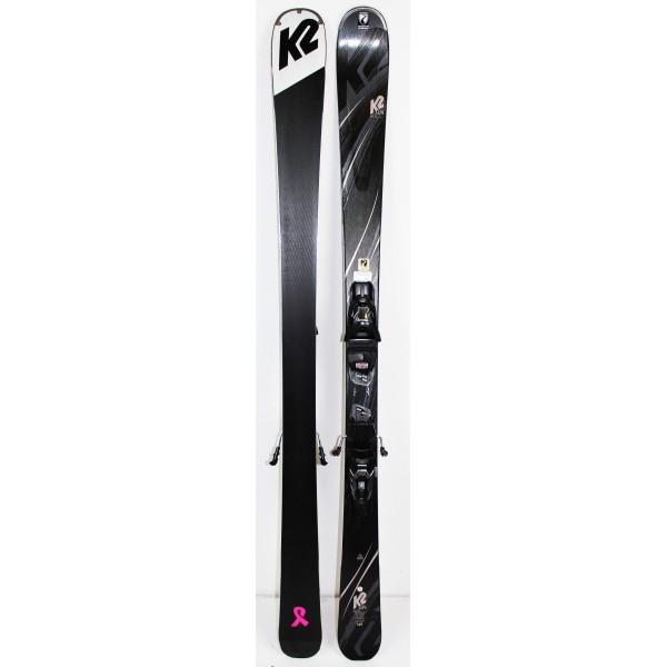Pack Ski K2 Luv 76 SMU Noir
