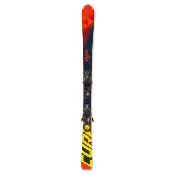 Pack Ski Junior-Rc4 The Curv Pro +Bindings FJ7