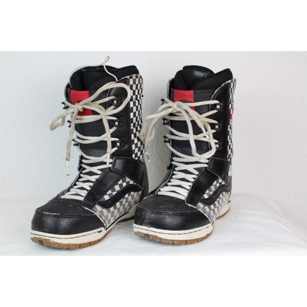 Boots de Snowboard Vans Mantra Noir / Blanc