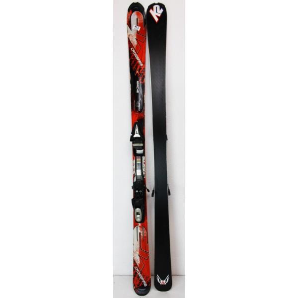 Pack Ski K2 Crossfire Rouge