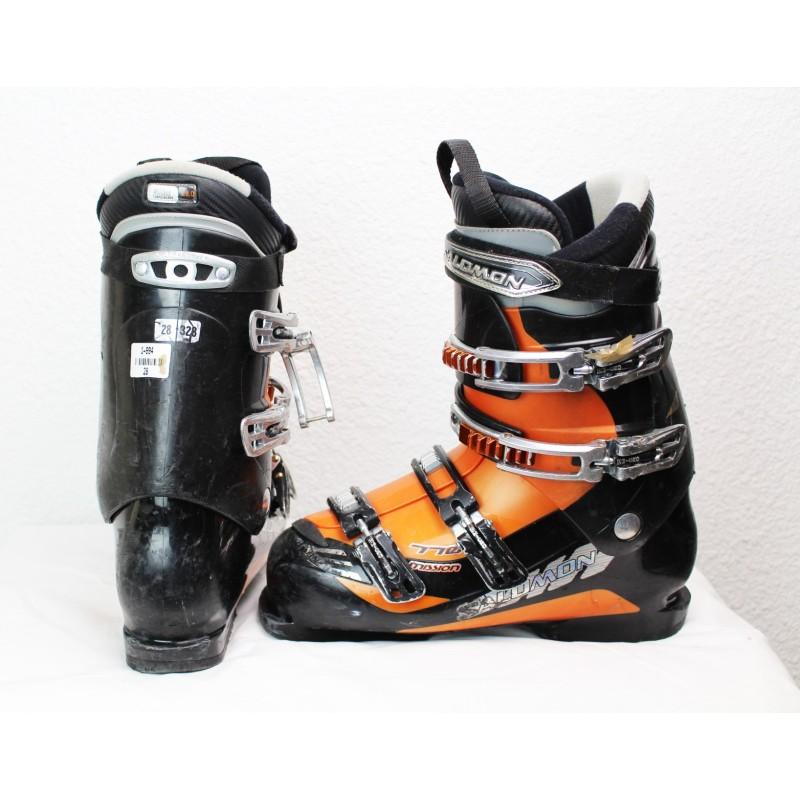 Ski boots Salomon Mission 770 Black Orange