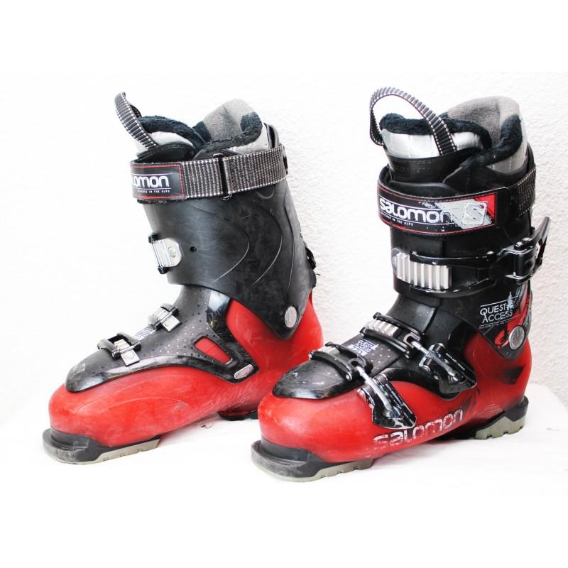 Chaussures de Ski Salomon Quest Access 770 Rouge