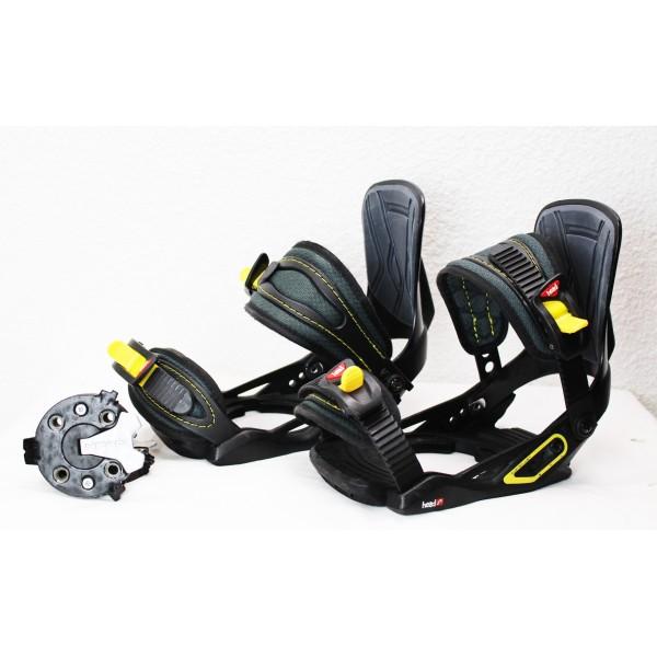 Fissazioni Snowboard Head Jr 4D SpeedDisc Nero / Giallo