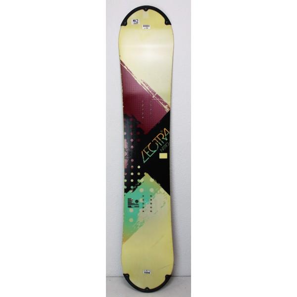 Snowboard Nitro Lectra Giallo / Rosso