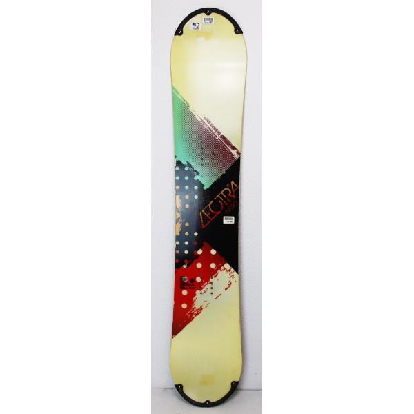 Snowboard Nitro Lectra Luminoso Giallo / Verde