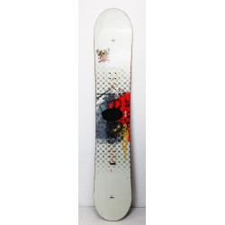 Snowboard Salomon Pulse RTL Blanc / Rouge