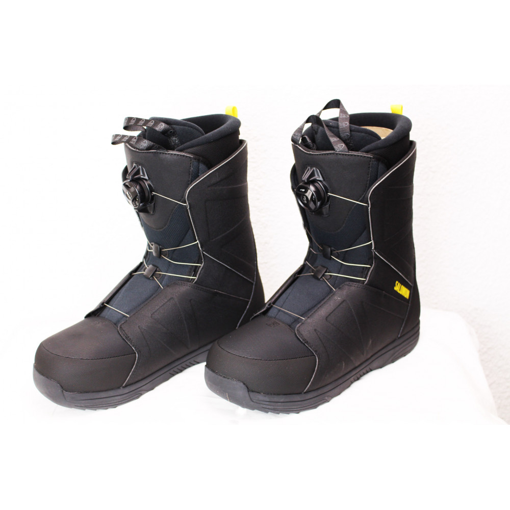Boots de Snowboard Salomon Faction Boa Noir