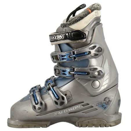 zapatos ski salomon chile negro