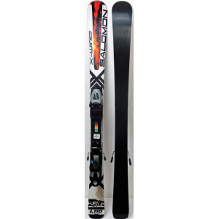 Ski occasion Salomon X Wing Tornado Ti Blanc + fixations