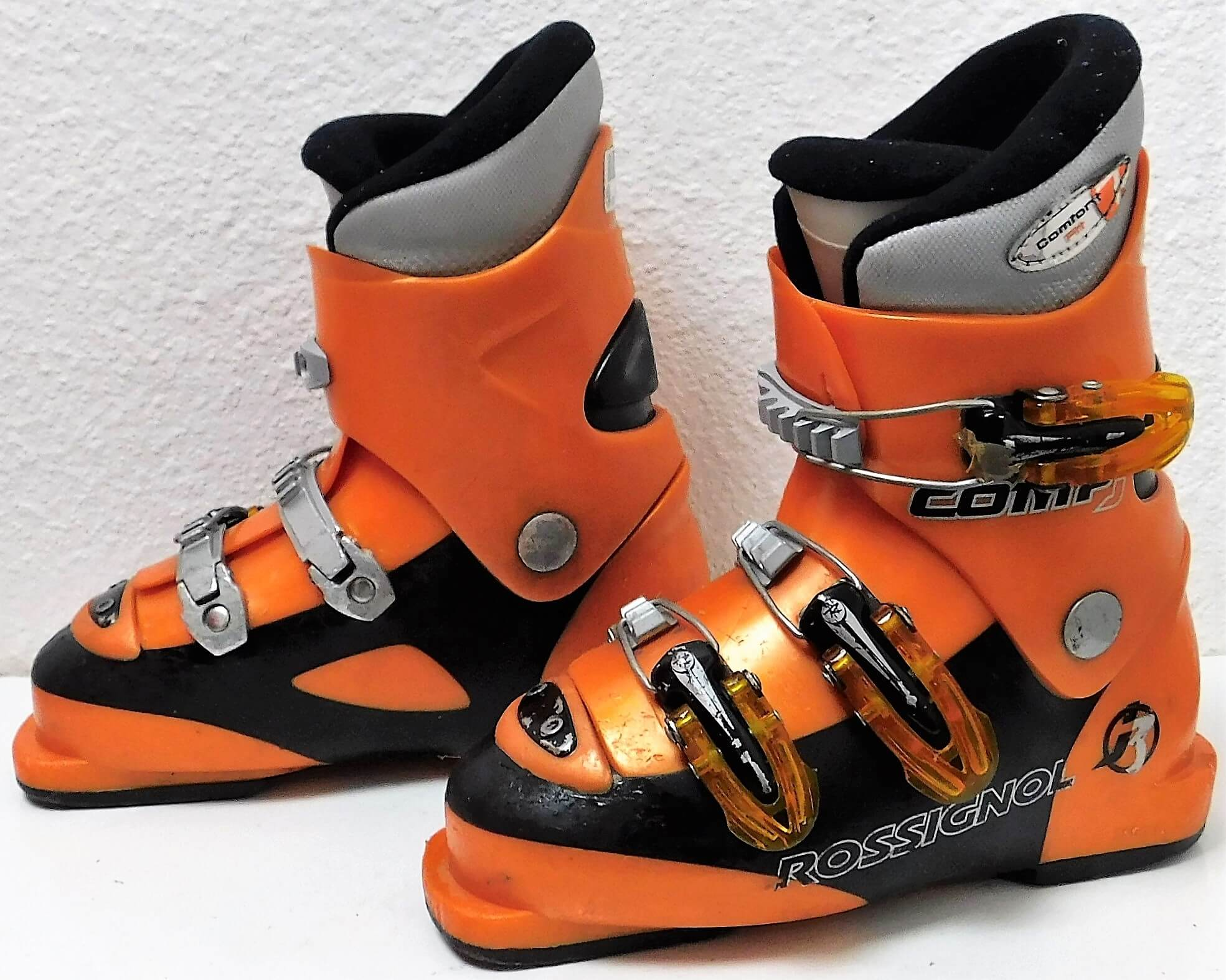 info pour design élégant acheter réel Ski Boots Rossignol Comp J3 Orange