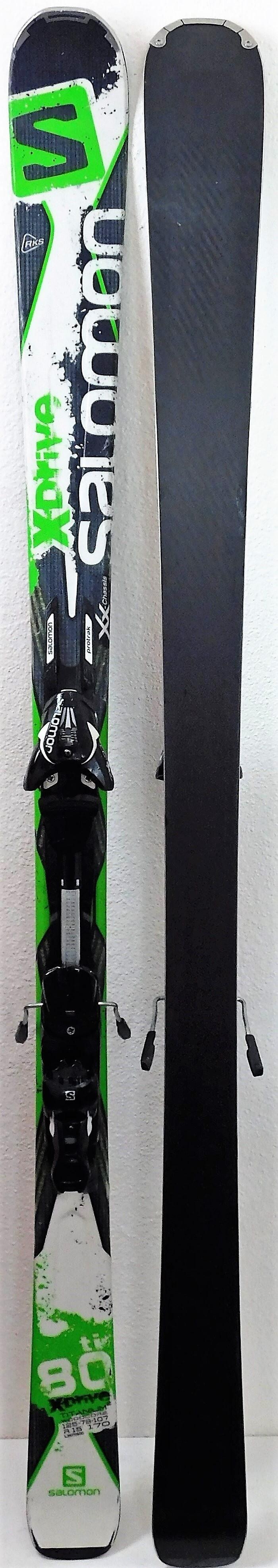 prevodilac šraf otplate  Pack Ski Salomon X-Drive 80 Ti + Fixations Salomon Z12