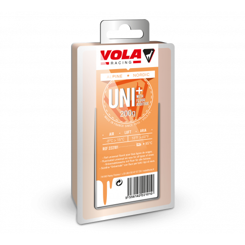 Fart Vola Universal Wax 200 G Orange Fluoré